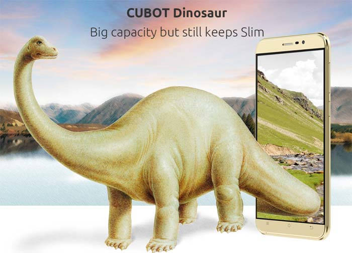 Photo of CUBOT Dinosaur, smartphone con 5,5 pulgadas y 3 GB de RAM
