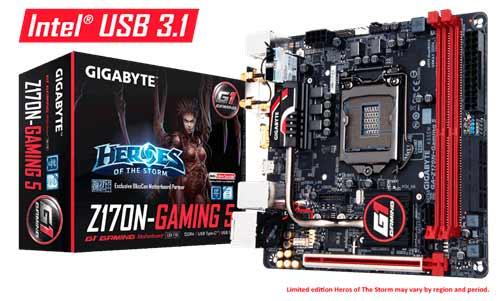 Gigabyte Z170n Gaming 5