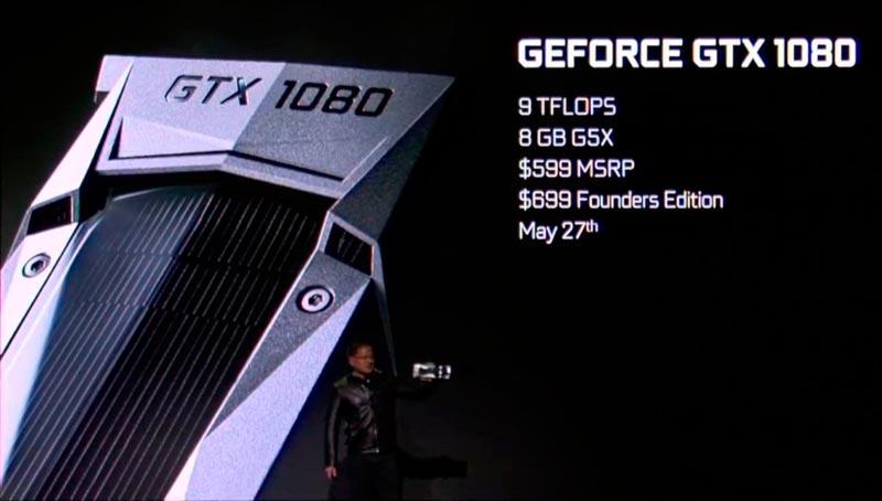 Nvidia GTX 1080 precio y disponibilidad