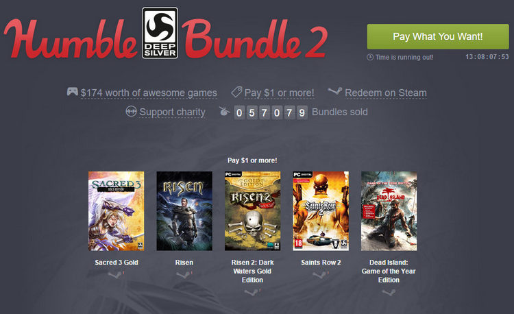 humble bundle deep silver