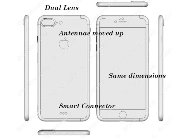 iphone 7 dimensiones