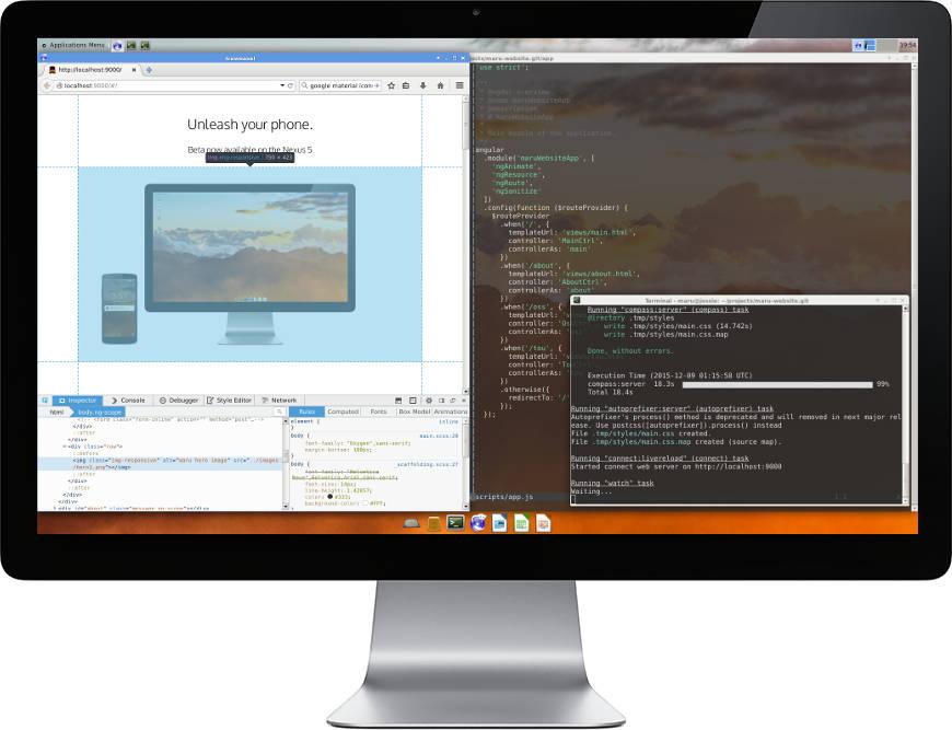 Photo of Maru OS convierte tu Smartphone Android en un PC con Debian