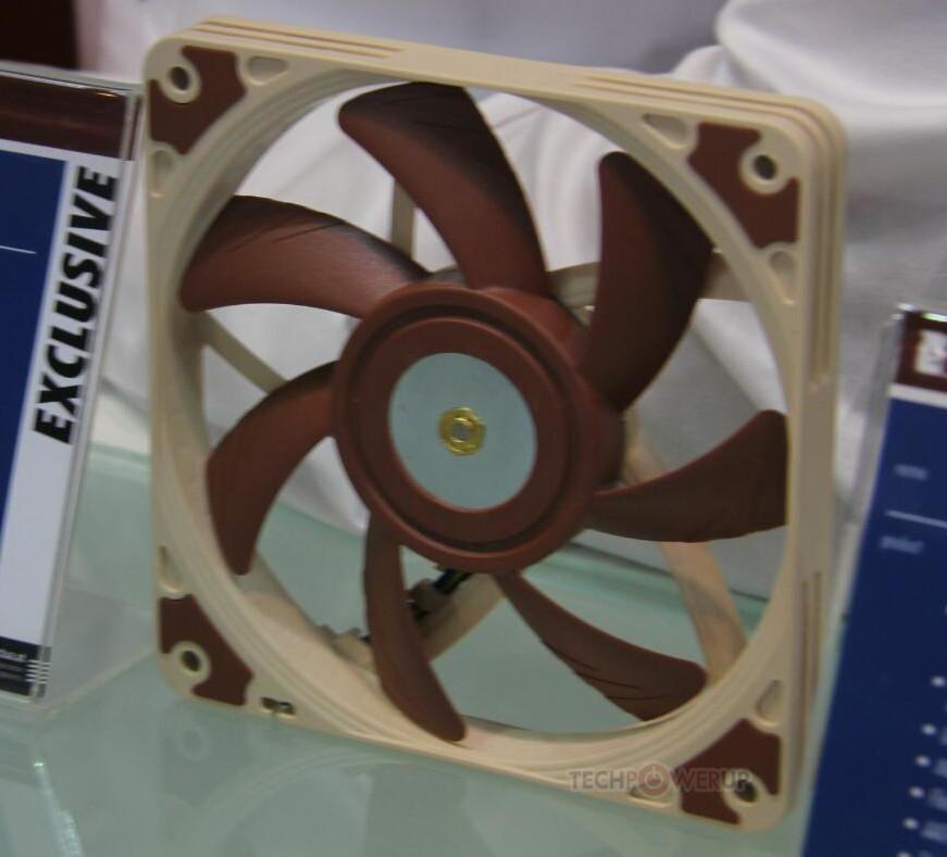noctua nuevo prototipo de ventilador de 120 mm