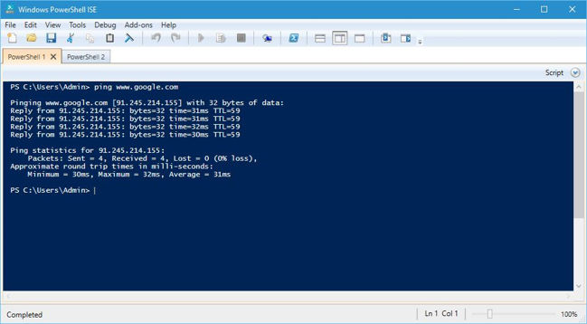 powershell-ise