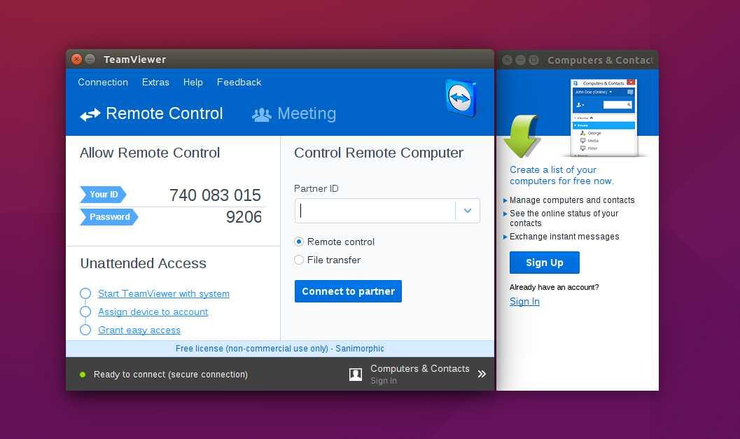 Instalar TeamViewer en Ubuntu