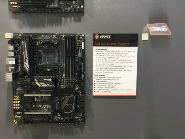 7 MSI 970A Gaming Pro Carbon