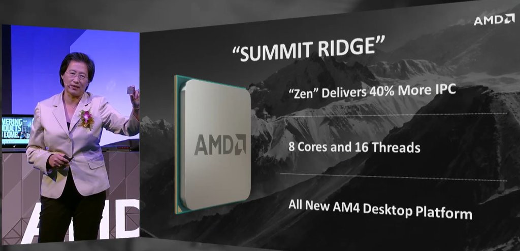 AMD Summit Ridge, todo lo que se sabe hasta ahora