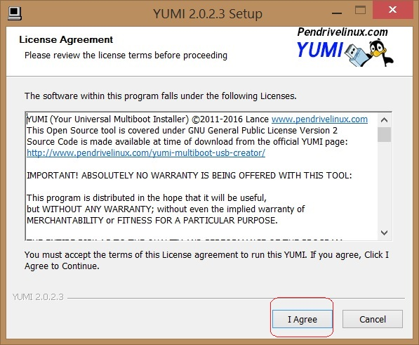 Cómo instalar Ubuntu 16.04 LTS descargar yumi 2