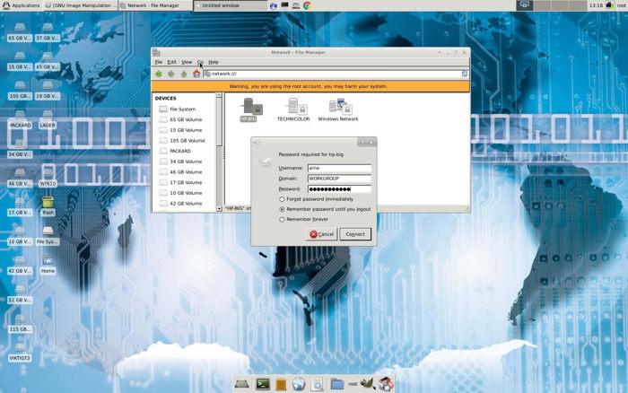 DebEX KDE Live Linux 160604