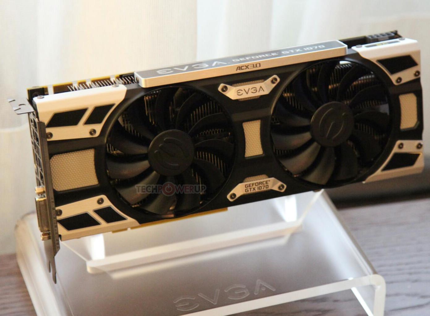 EVGA GeForce GTX 1070 SC características