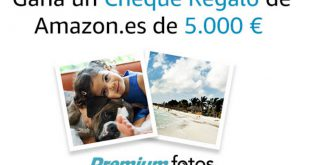 Gana un cheque de 5.000 euros con Amazon