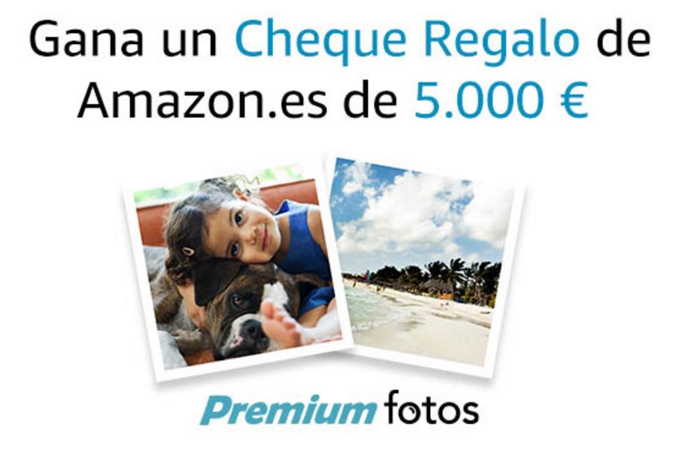 Gana un cheque de 5.000 euros con Amazon