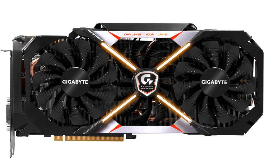 Gigabyte GeForce GTX 1080 Xtreme Gaming características técnicas