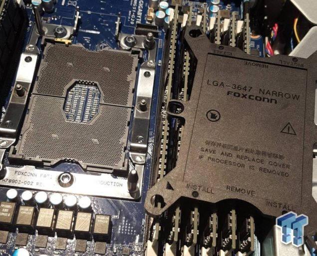Intel Skylake-E estrenará el socket LGA 3647