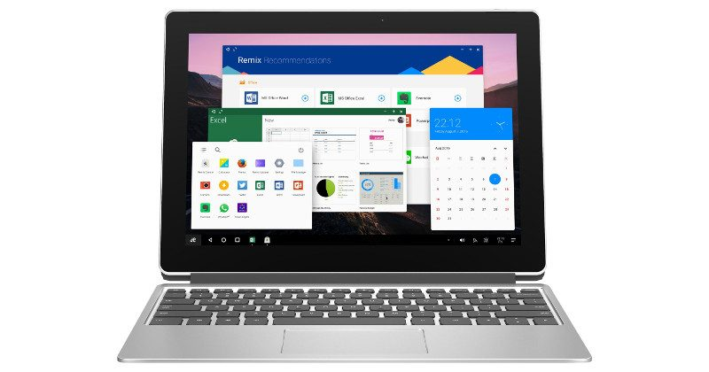 Jide muestra la tablet Remix Pro 2 en 1