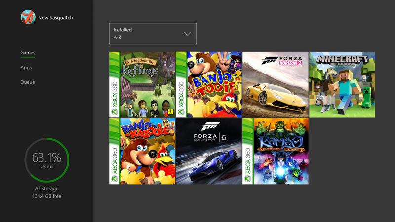 Juegos de Xbox One funcionando en Windows 10