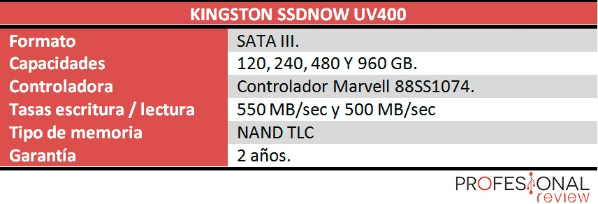 Kingston-SSDNow-UV400-caracteristicas