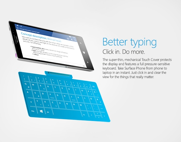 Microsoft prepara un smartphone innovador, posible Surface Phone