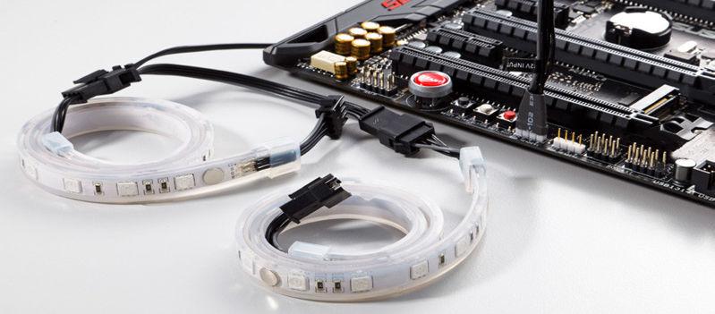 Nuevas tiras de iluminación Phanteks RGB LED para tu sistema