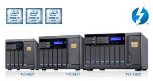 Nuevo QNAP TVS-x82T NAS con soporte para 4K