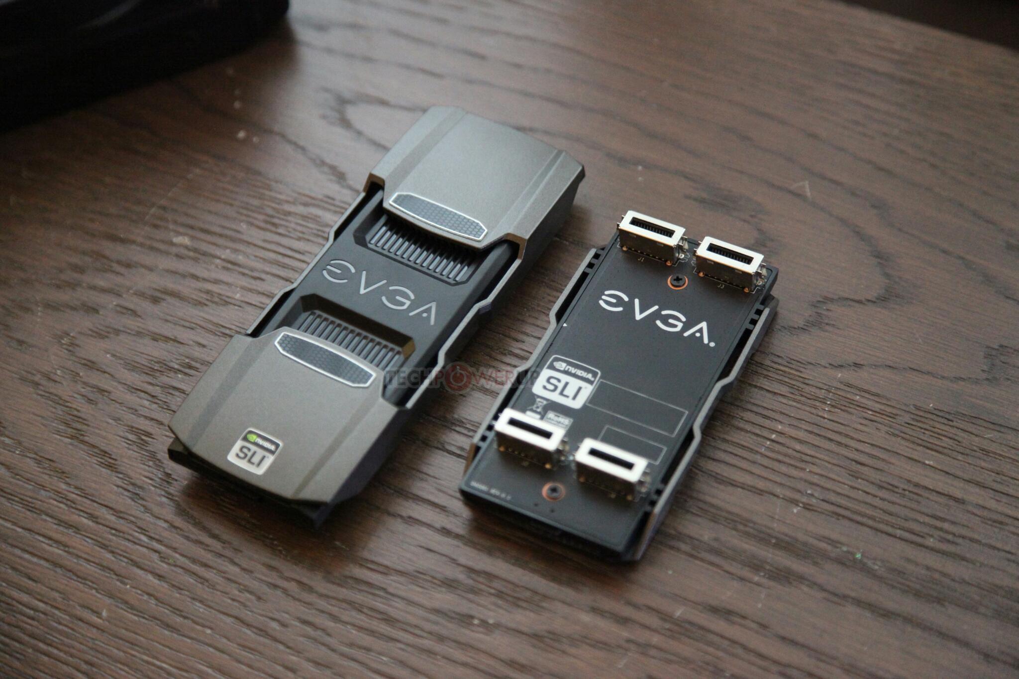 Nuevos puentes SLI de alto rendimiento EVGA SLI HB