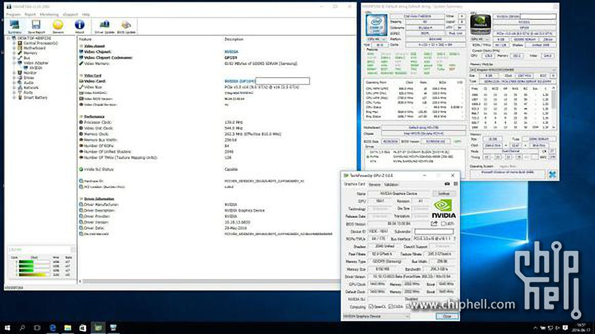 Nvidia GeForce GTX 1080M tiene 2048 CUDA Cores 2