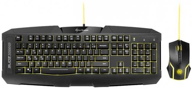 SharkZone GK15 es el nuevo kit gamer para los usuarios con presupuesto ajustado