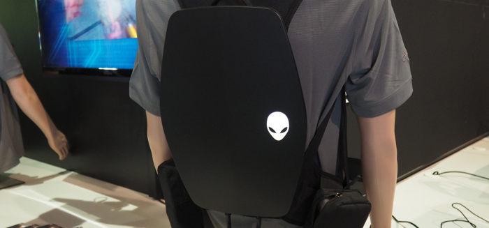 """Photo of Alienware presenta su """"Mochila-PC"""" para realidad virtual"""