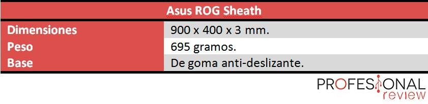Asus ROG Sheath caracteristicas