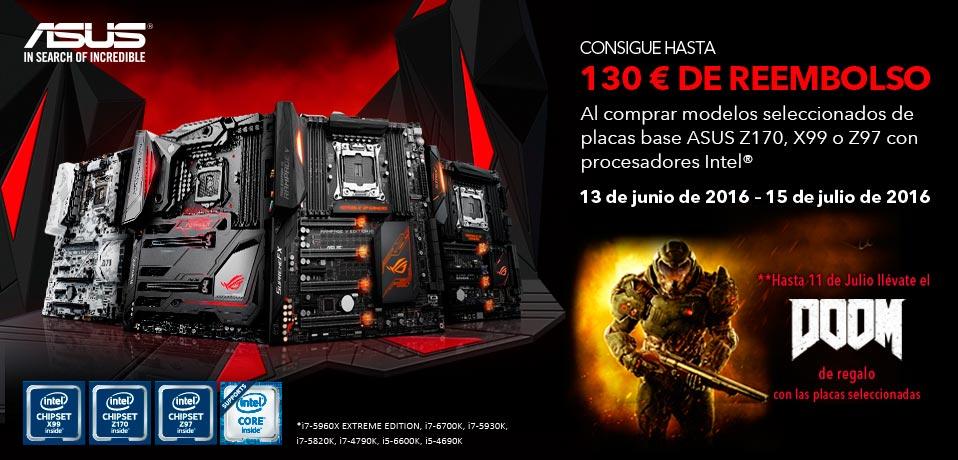 Photo of Nueva promoción cashback Asus para plataformas Intel