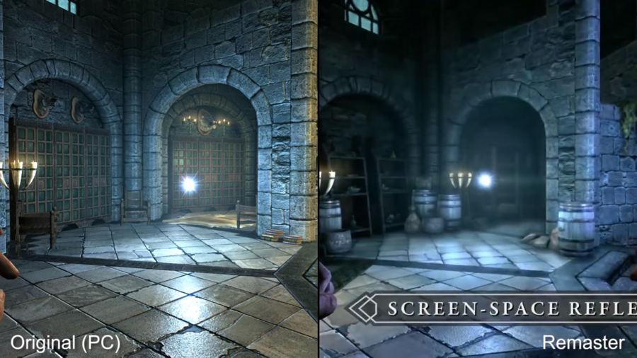 skyrim original vs remasterizado