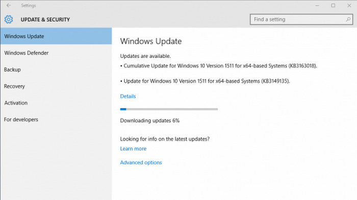 windows 10 KB3163018 3