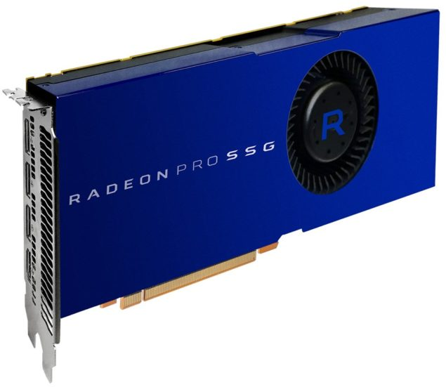 AMD Radeon Pro SSG, Polaris llega al sector profesional
