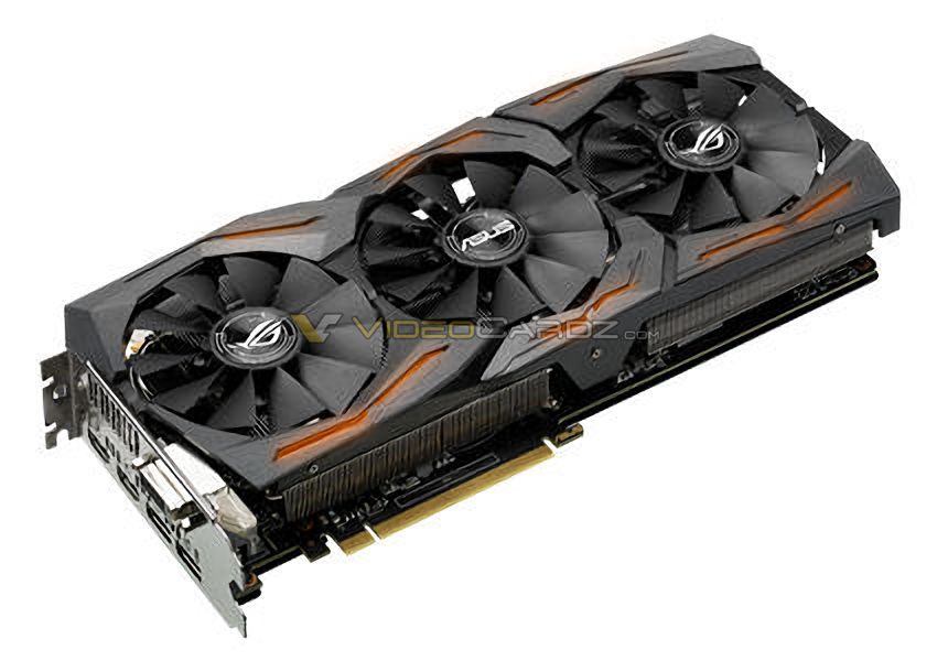 Asus ROG Strix GeForce GTX 1060 1