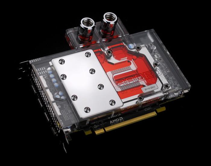 BYKSKI Radeon RX 480 Water Block anunciado