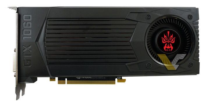 Gainward GeForce GTX 1060 Founders Edition