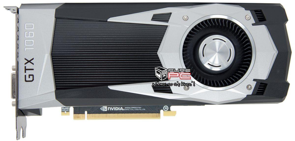 GeForce GTX 1060 detalles del modelo de referencia 1
