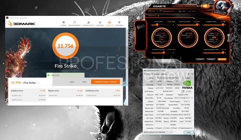 Gigabyte-GTX1060-G1-Gaming-3dMARK-overclock