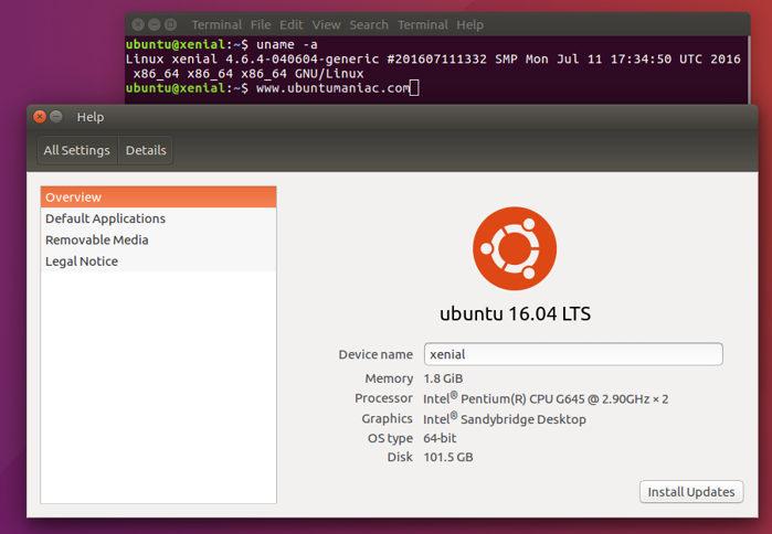 Linux Kernel 4.6.4