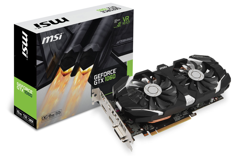 MSI GeForce GTX 1060 6GTOC en imágenes 1