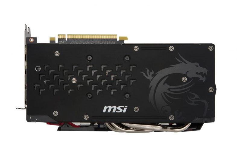 MSI Radeon RX 480 GAMING X se deja ver 3