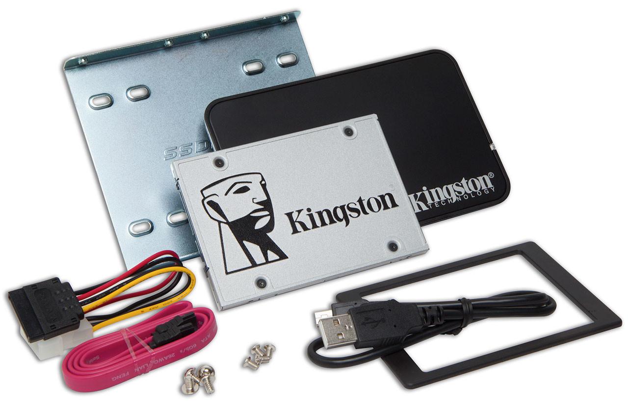 Nuevos SSD Kingston UV400 anunciados