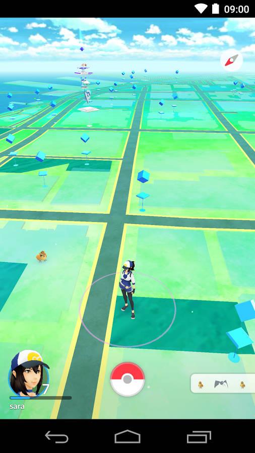 Pokémon GO ya disponible para Android e iOS 2