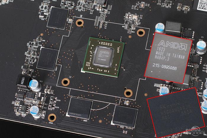 Primera imagen real mostrando el núcleo AMD Polaris 11 en todo su esplendor
