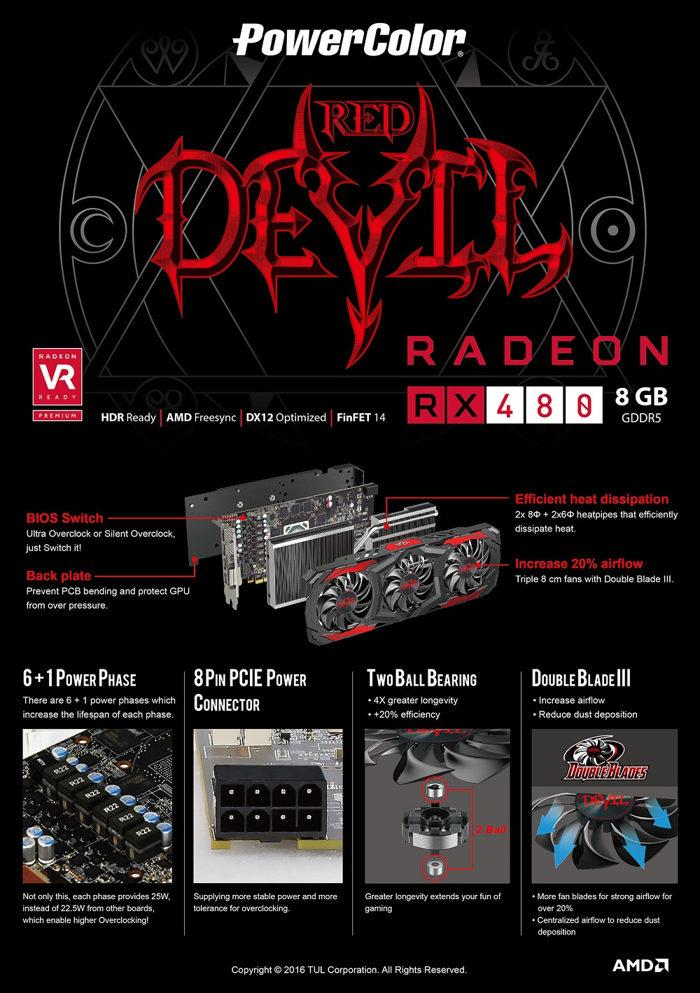 RED DEVIL RX 480
