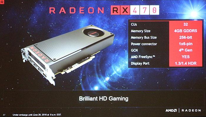 RX 470 RX 460 2