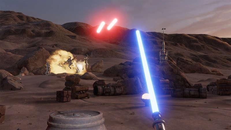 Star Wars: Trials on Tatooine llega a las HTC Vive