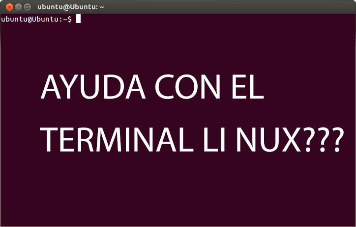 comandos linux ayuda