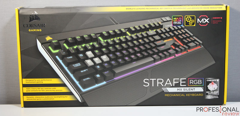 Corsair Strafe MX Silent review