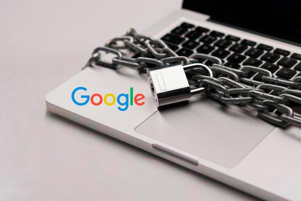 eliminar datos de Google